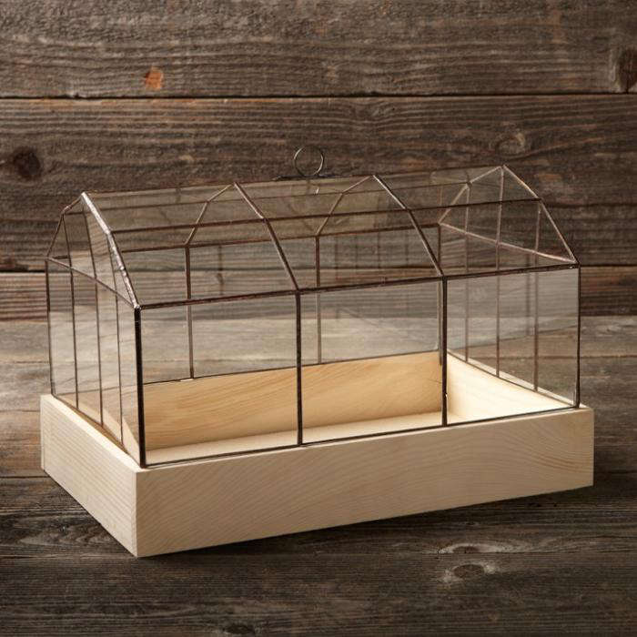 Copper Amp Glass Terrarium Gardenista