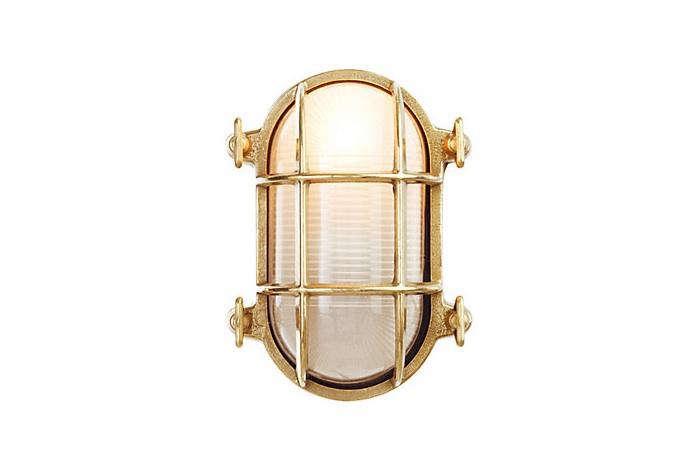 Oval Bulkhead Light, Outdoor Nautical Lights