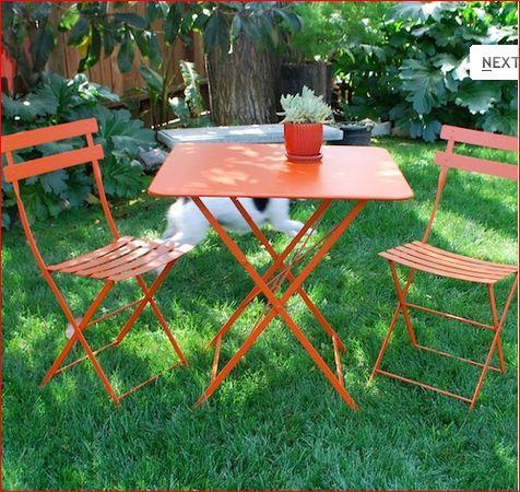 fermob bistro outdoor chairs gardenista. Black Bedroom Furniture Sets. Home Design Ideas