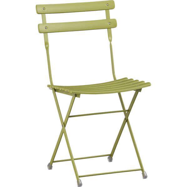 pronto folding bistro chair - Bistro Chairs