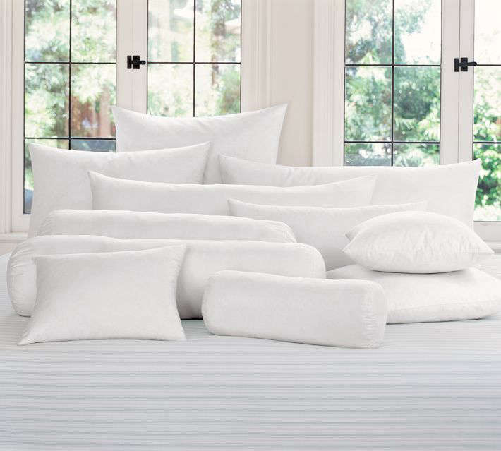 Synthetic Bedding Pillow Inserts Gardenista