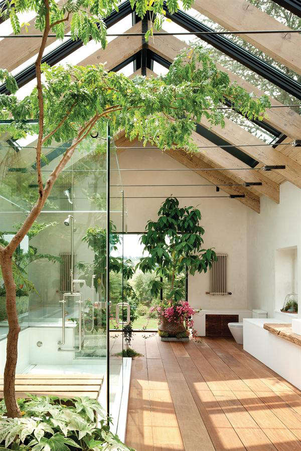 Why not in the bathroom  where the humidity level is conducive to all sorts of greenery  Here are a few of our favorite garden like bathrooms. 5 Favorites  Bathroom as Garden   Gardenista