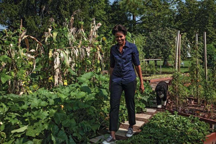 Steal This Look Michelle Obama 39 S White House Garden Gardenista