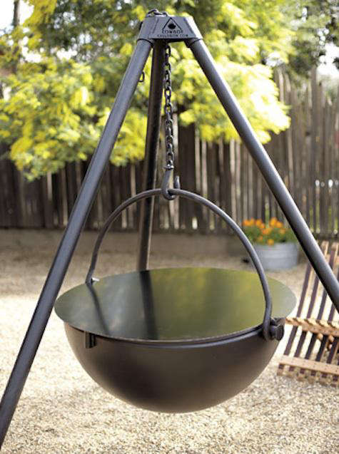 Outdoors Cowboy Cauldron From Napa Style Gardenista