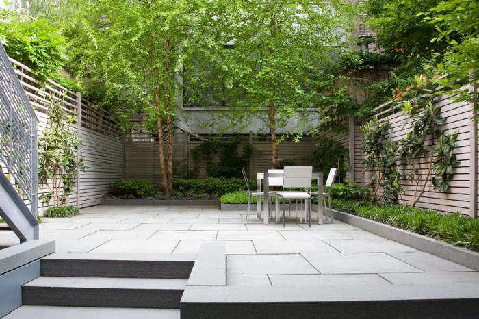 landscape architect visit: a lush nyc backyard by robin key ... - Patio Landscape Architecture