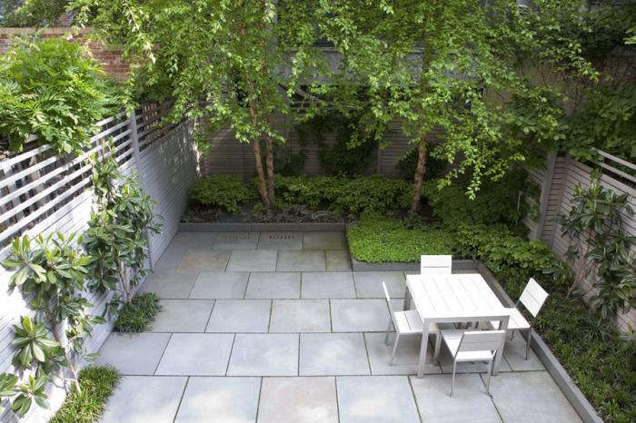 Landscape architect visit a lush nyc backyard by robin for Townhouse landscaping