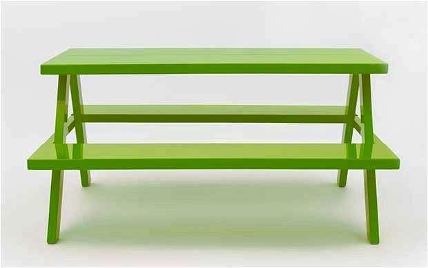 jennifer-newman-green-picnic-table