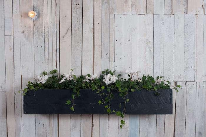 Diy Elegant Black Stained Window Boxes Gardenista