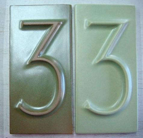 Outdoors House Numbers From Heath Ceramics Gardenista