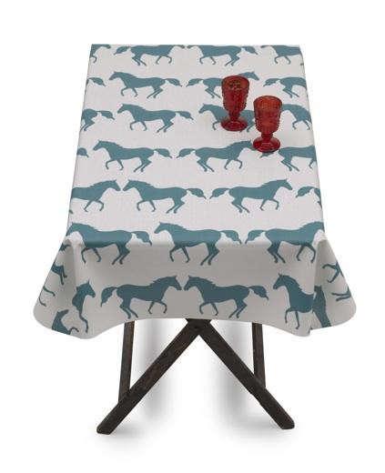 horses-oilcloth