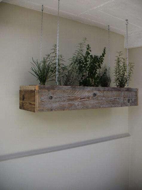 Hanging Herb Gardens Outdoor Design