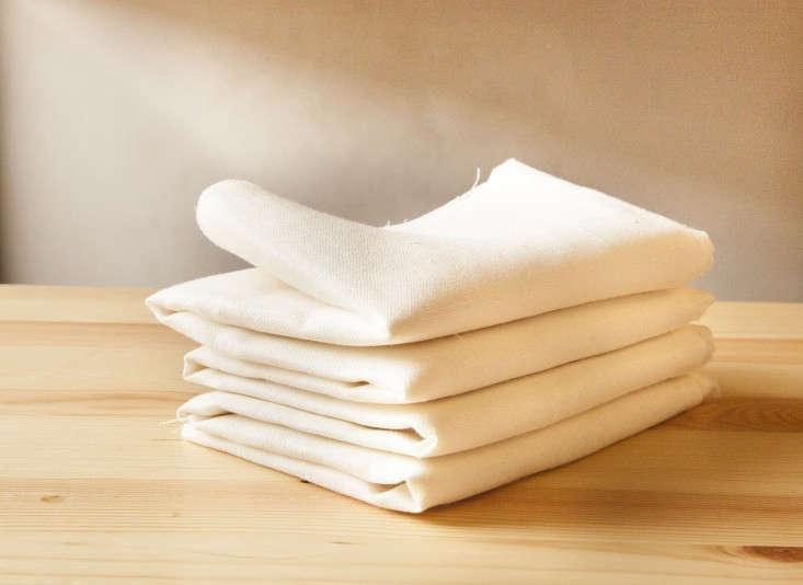turmeric-dye-tablecloth-diy-folded-up-gardenista
