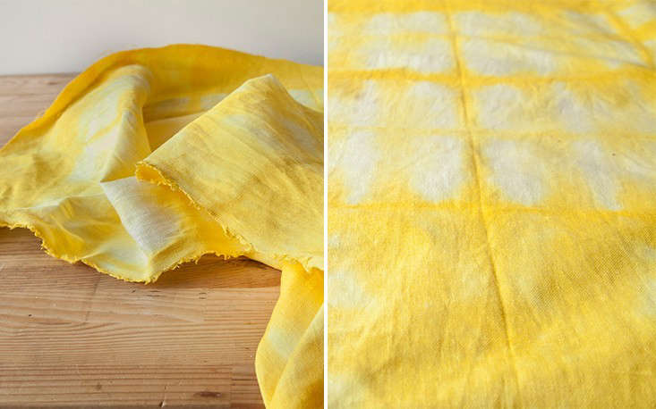 Diy Dye A Sunshine Yellow Turmeric Tablecloth Gardenista