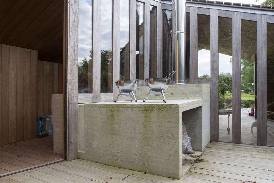 outdoor kitchen Onix Architects