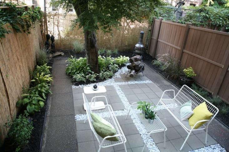 Backyard Garden Ideas Before And After before and after: a modern brooklyn backyard on a budget - gardenista