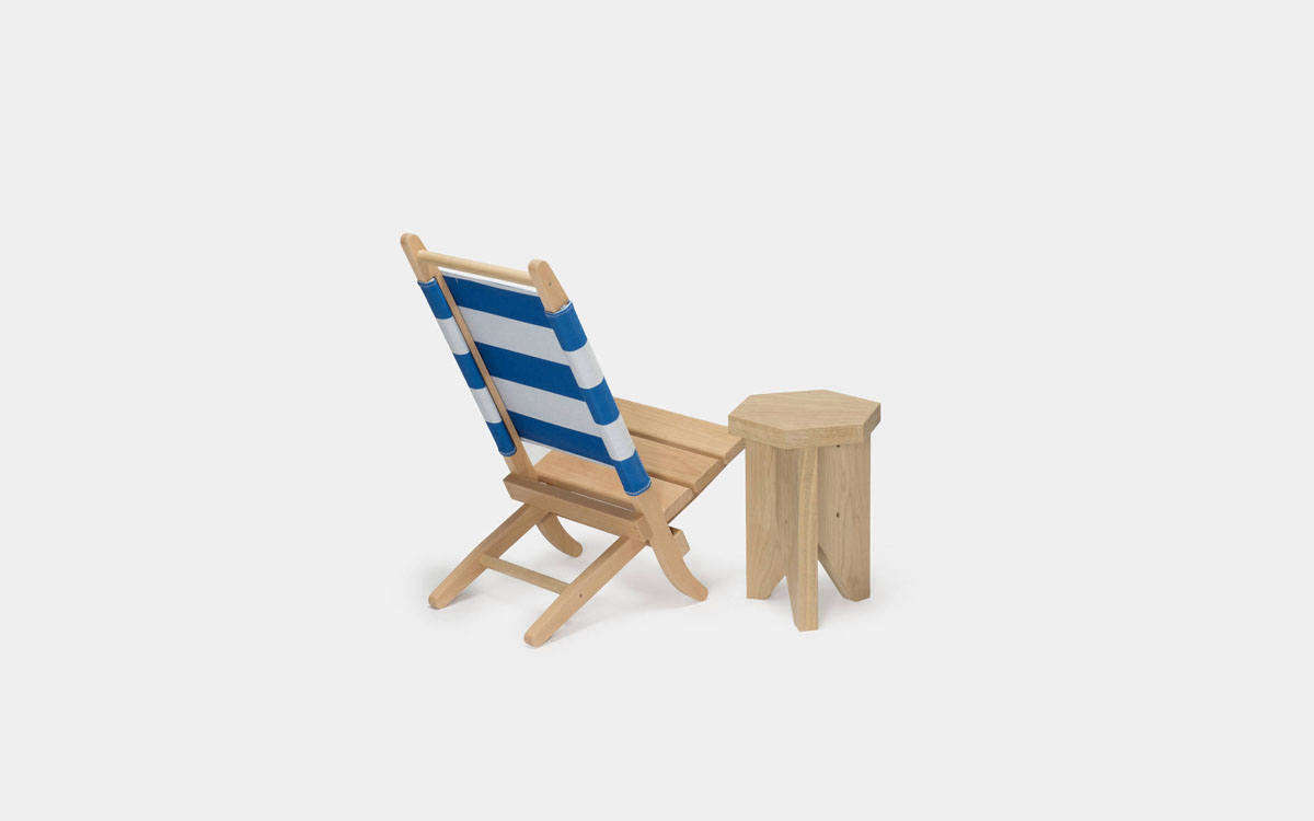 High Low The Folding Wood Beach Chair Remodelista