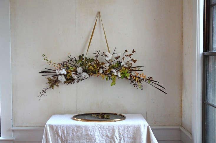 DIY Cotton Garland by Justine Hand on Gardenista