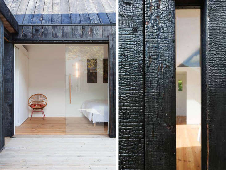 Before And After A Charred Wood Cottage On A 45k Budget