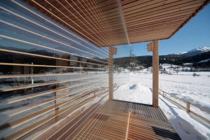 An Alpine Hut by OFIS Architeki   Remodelista