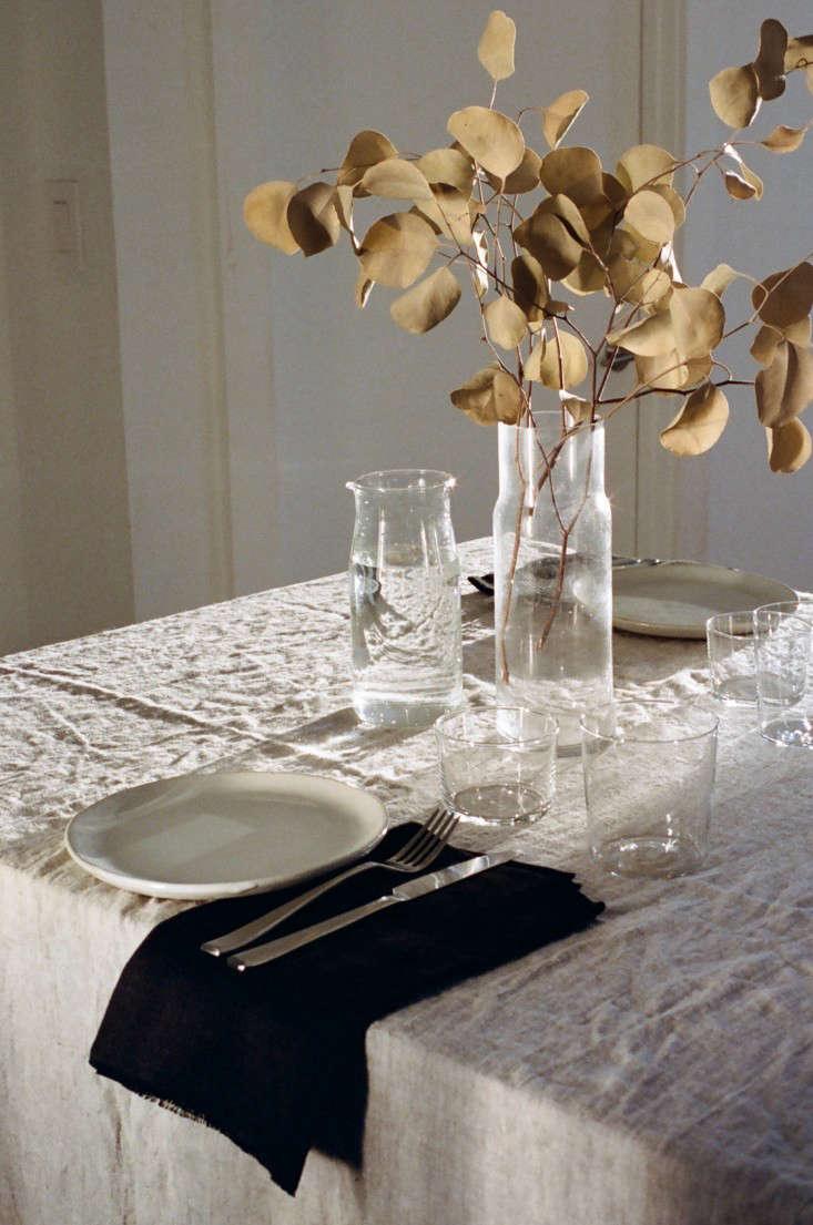 Ambatalia Linen Dish Covers - Remodelista