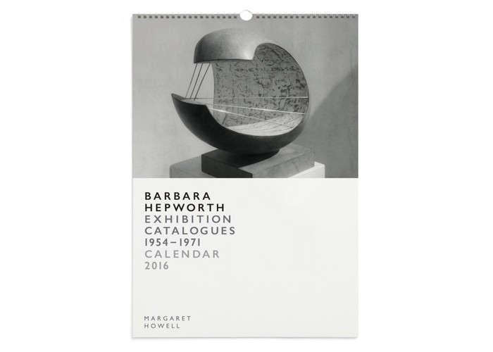 Margaret Howell Barbara Hepworth Calendar | Remodelista
