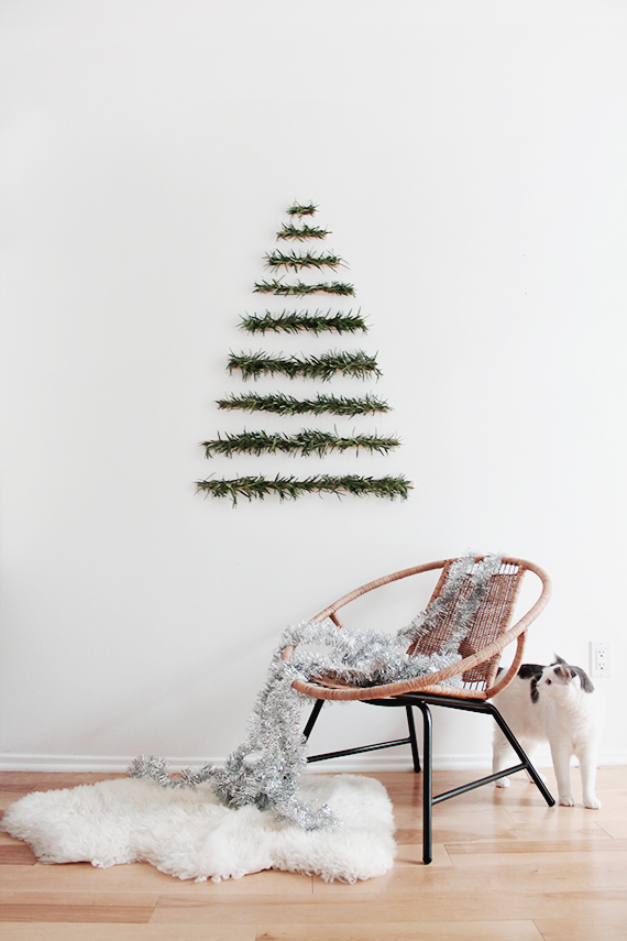 Modern Wall Hanging Christmas Tree from Rosemary | Remodelista