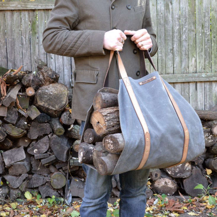 10 Easy Pieces: Firewood Log Carriers | Gardenista