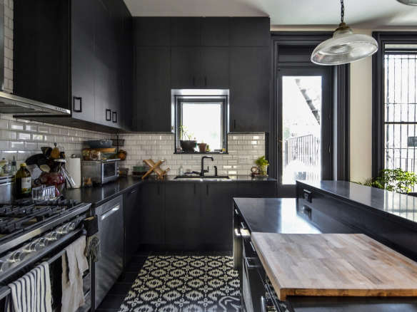 Ikat Black White Cement Tile Patterns