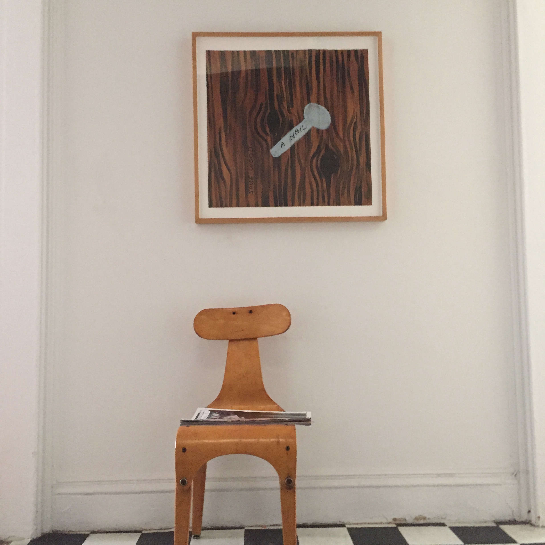 Chair as scultpure, Corinne Gilbert design | Remodelista