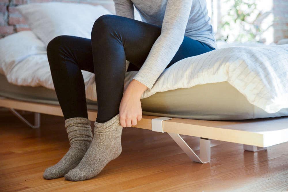 Minimalist Platform Bed Design