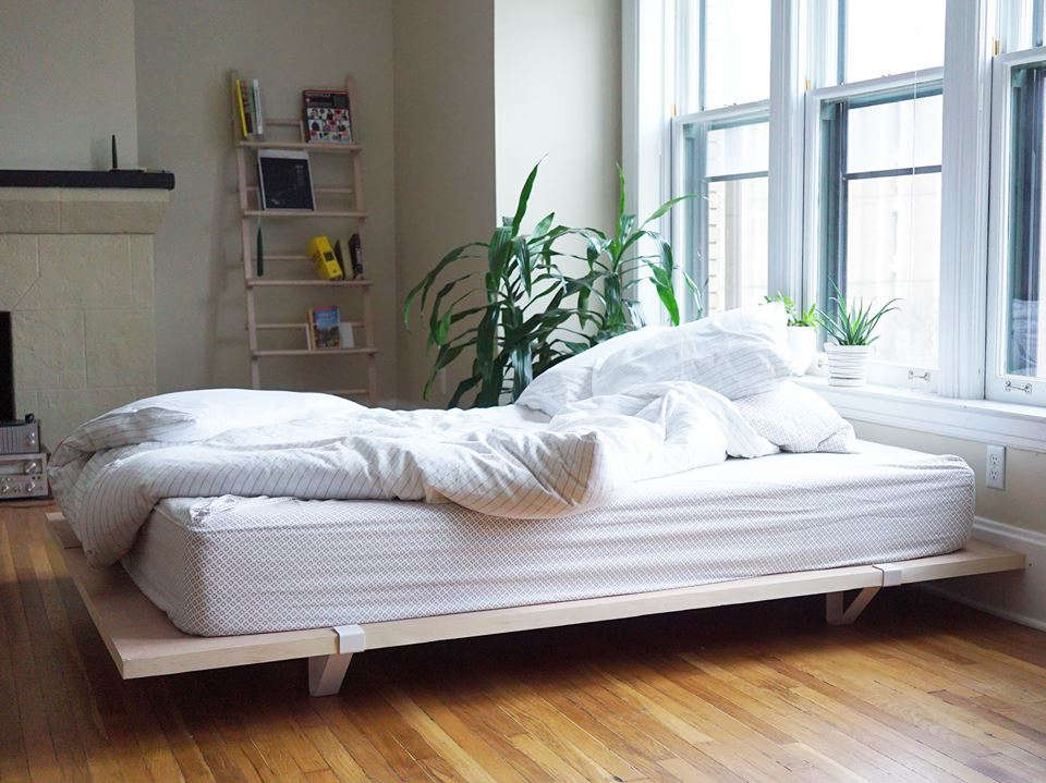 Sleep Simplified The Floyd Platform Bed For Urban Nomads