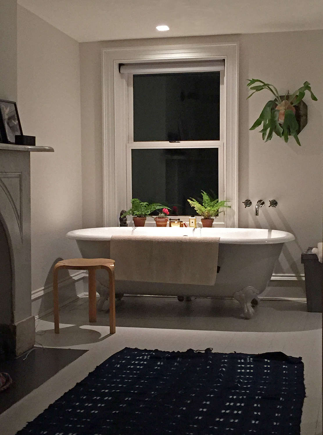 Do Try This At Homeu2014in Freundlichu0027s Own Newly Remodeled Brooklyn Bathroom,  He Used
