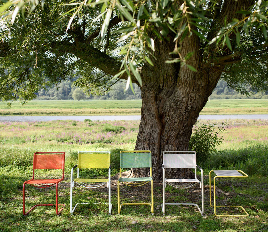 Outdoor Furniture: New All-Weather Classics From Thonet
