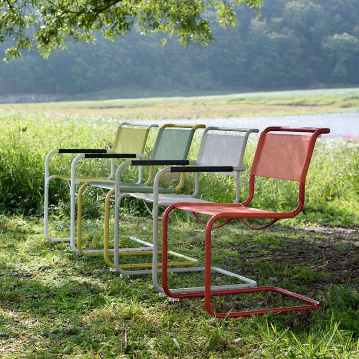 Outdoor furniture new all weather classics from thonet for All weather garden chairs