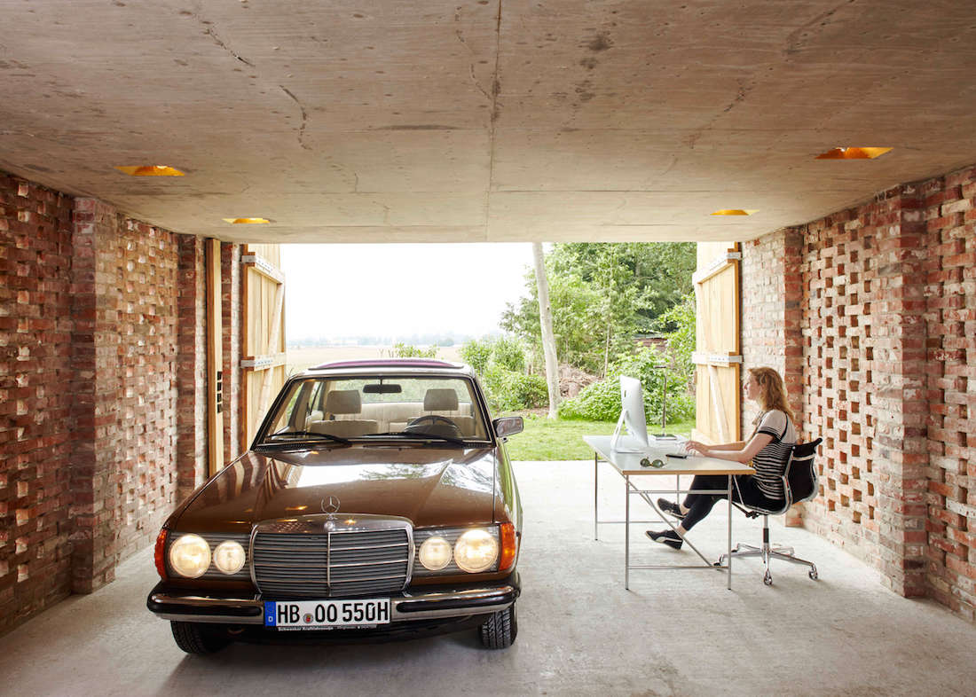 outbuilding of the week garage as lantern in the german