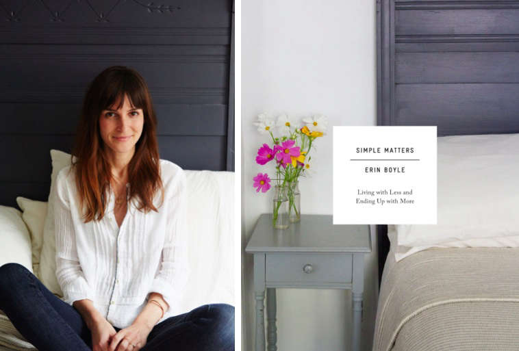 Erin Boyle cover image from her new book, Simple Matters | Remodelista