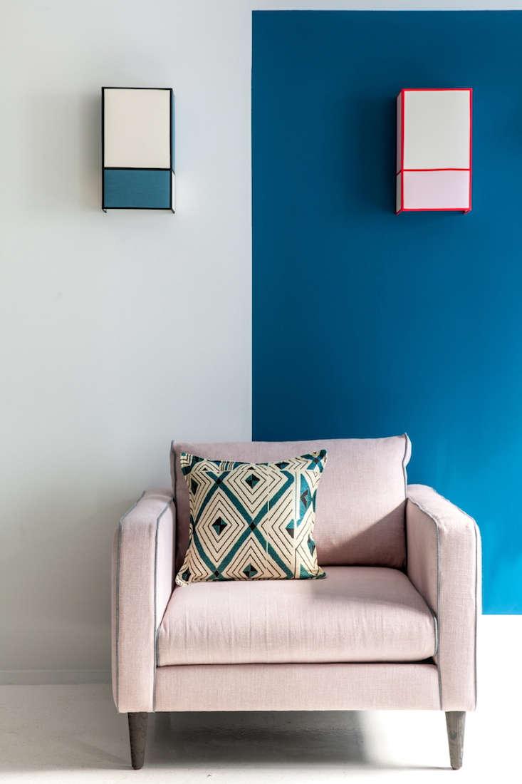 a fearless paris designer introduces a line of paints. Black Bedroom Furniture Sets. Home Design Ideas