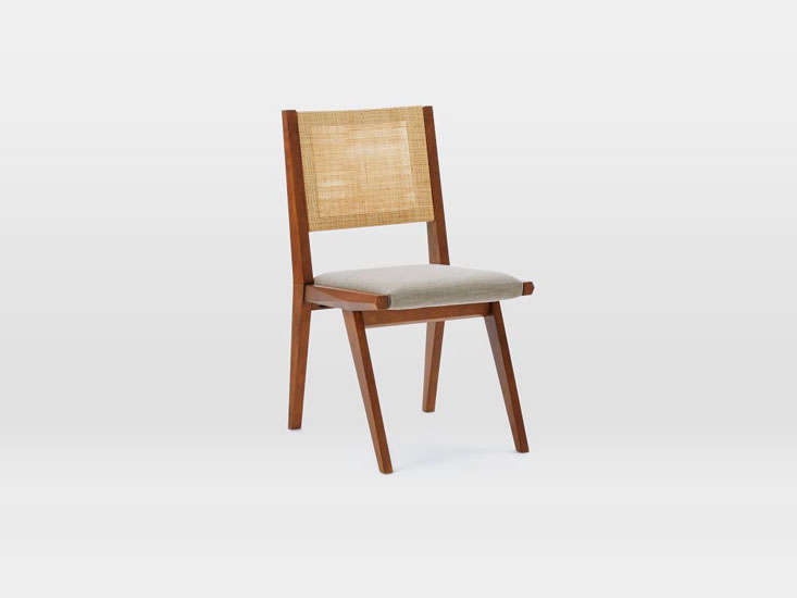 West Elm Upton Dining Chair Caned Remodelista