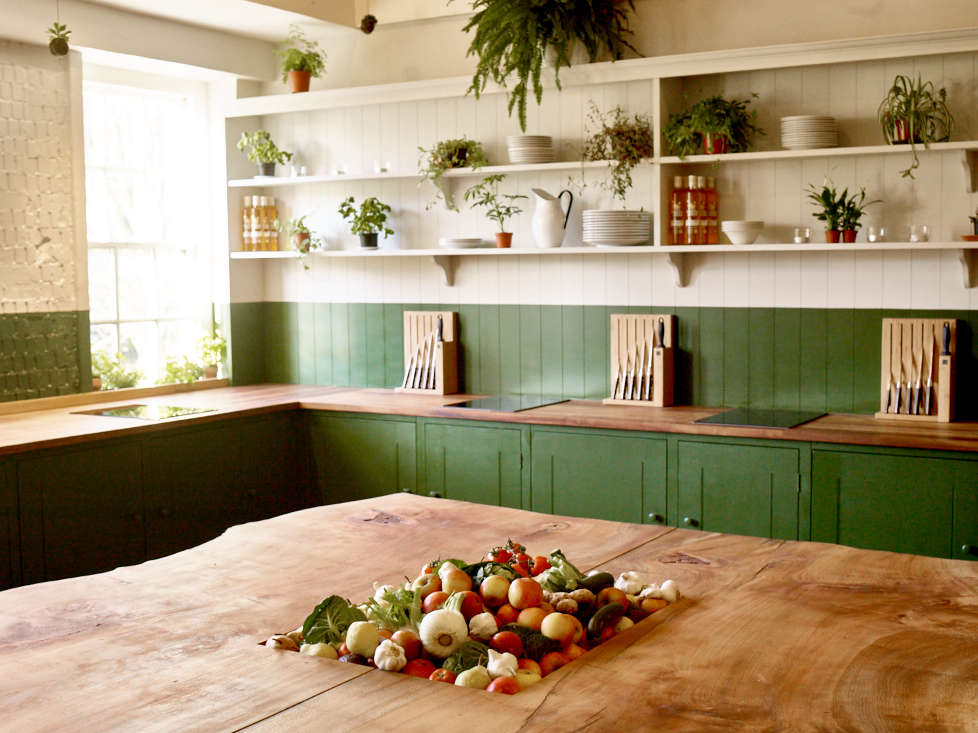 B&H Kitchen, Bourne and Hollingsworth, British Standard, two-tone kitchen | Remodelista