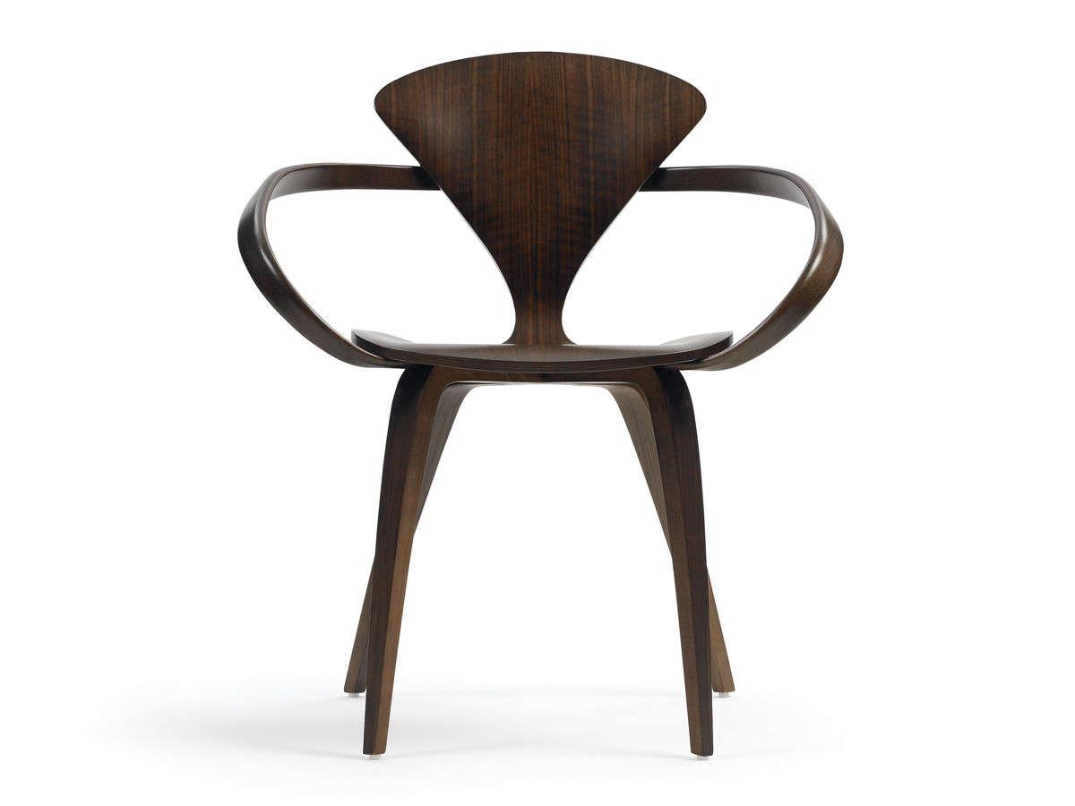 Cherner armchair in walnut | Remodelista