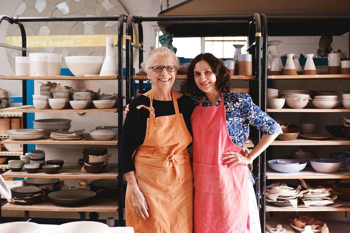 Mother-daughter-team-Dora-De-Larios-and-Sabrina-Judge-of-Irving-Place-Studio-via Jenni Kayne/Rip+Tan | Remodelista