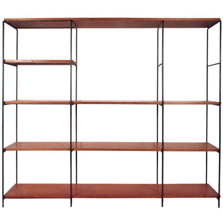 Muriel Coleman iron wall shelf via Just in Modern | Remodelista