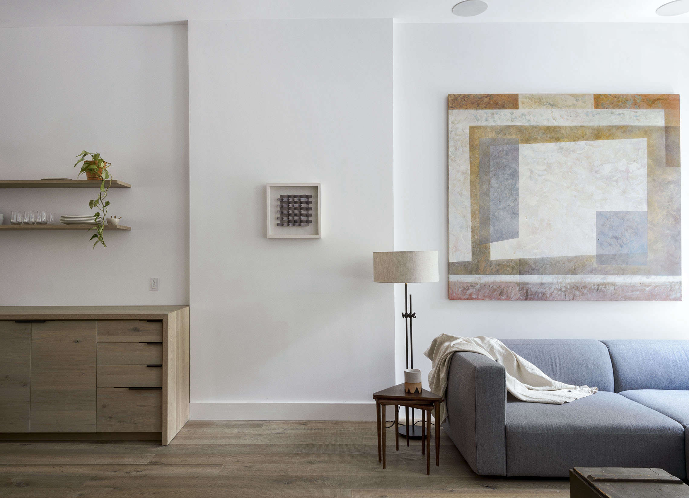 Brooklyn brownstone with an open living room by Workstead, Matthew Williams photo | Remodelista