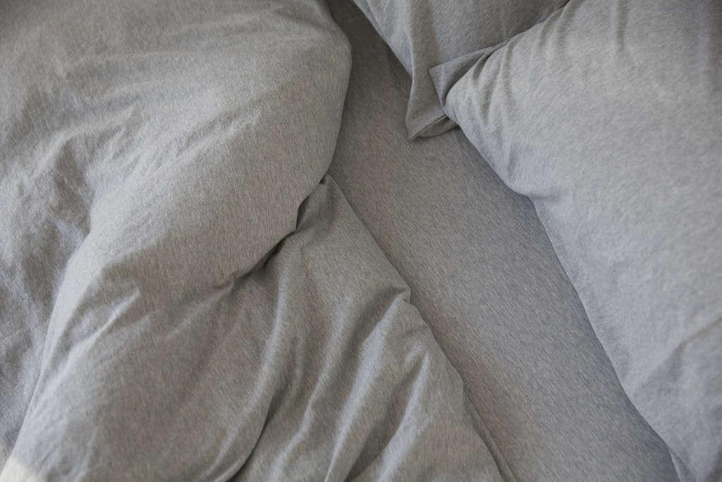 Grey Marle Duvet Cover Remodelista