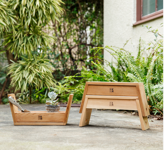 Mission accomplished a japanese design lab 39 s two in one for Outdoor furniture japan