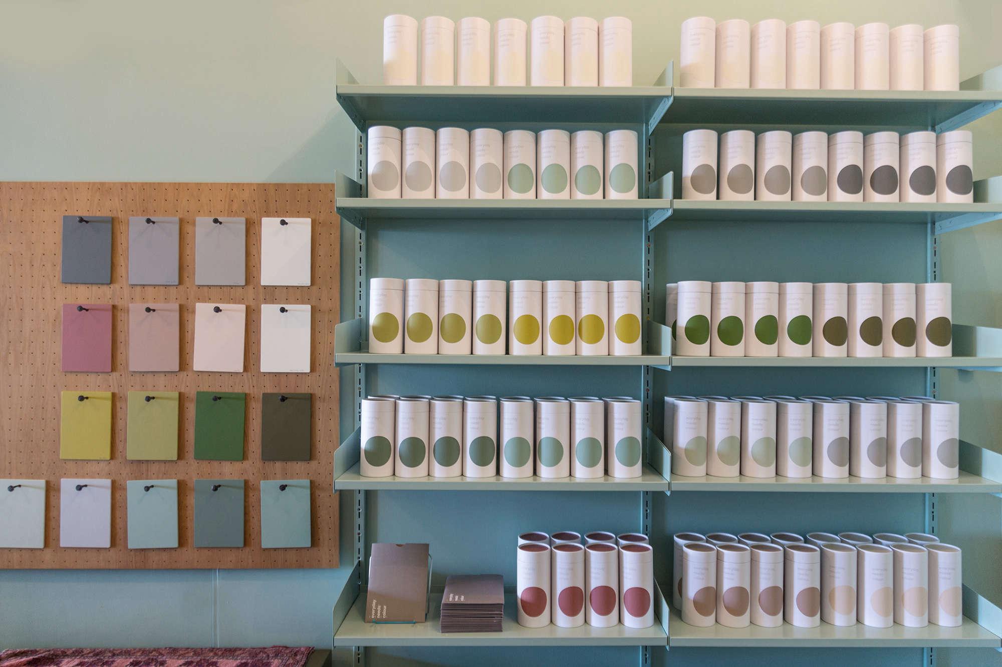 shop-green-paint-display-everyday-needs