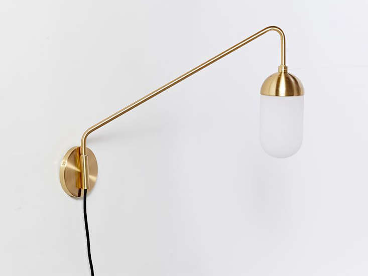 Wall Lamps West Elm : 10 Easy Pieces: Simple Swing-Arm Wall Lights - Remodelista