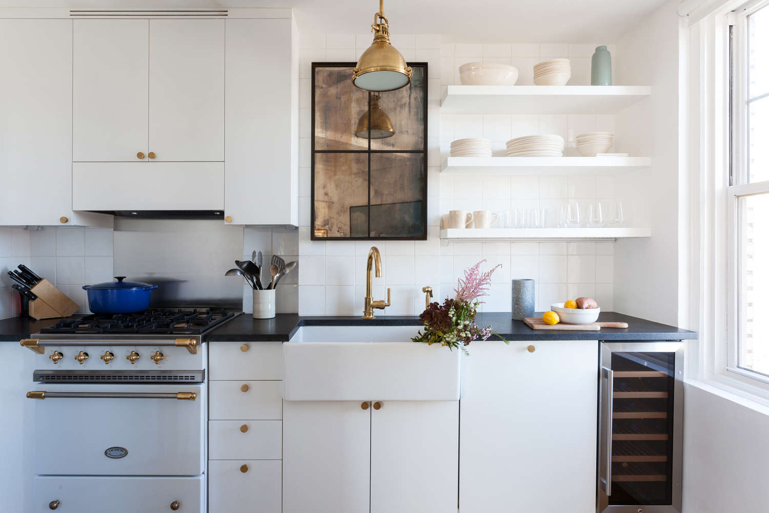 Small Kitchen Design Nyc kitchen of the week: a small kitchen with big personality for