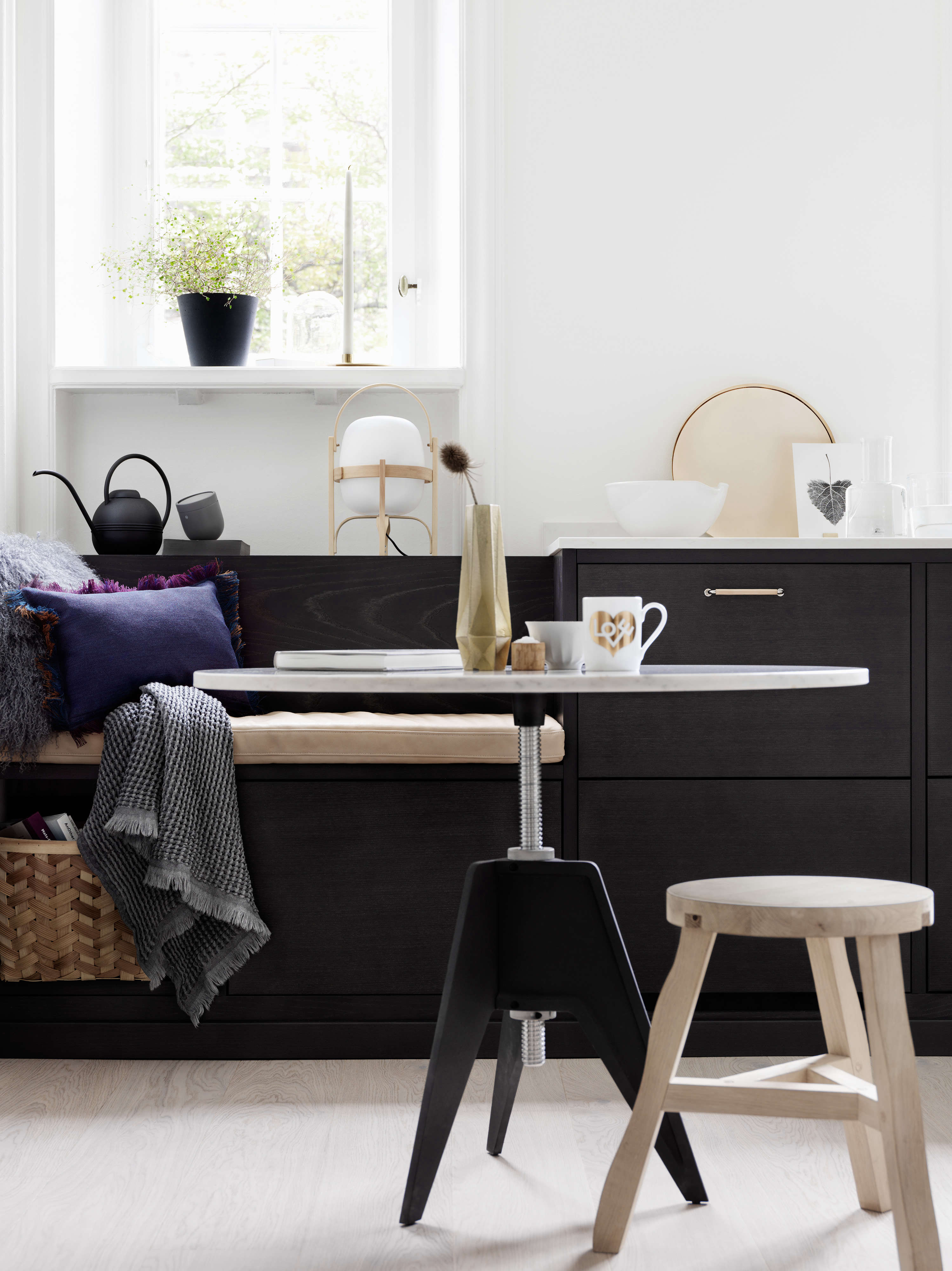 Kitchen Of The Week A Swedish Kitchen With A Place For