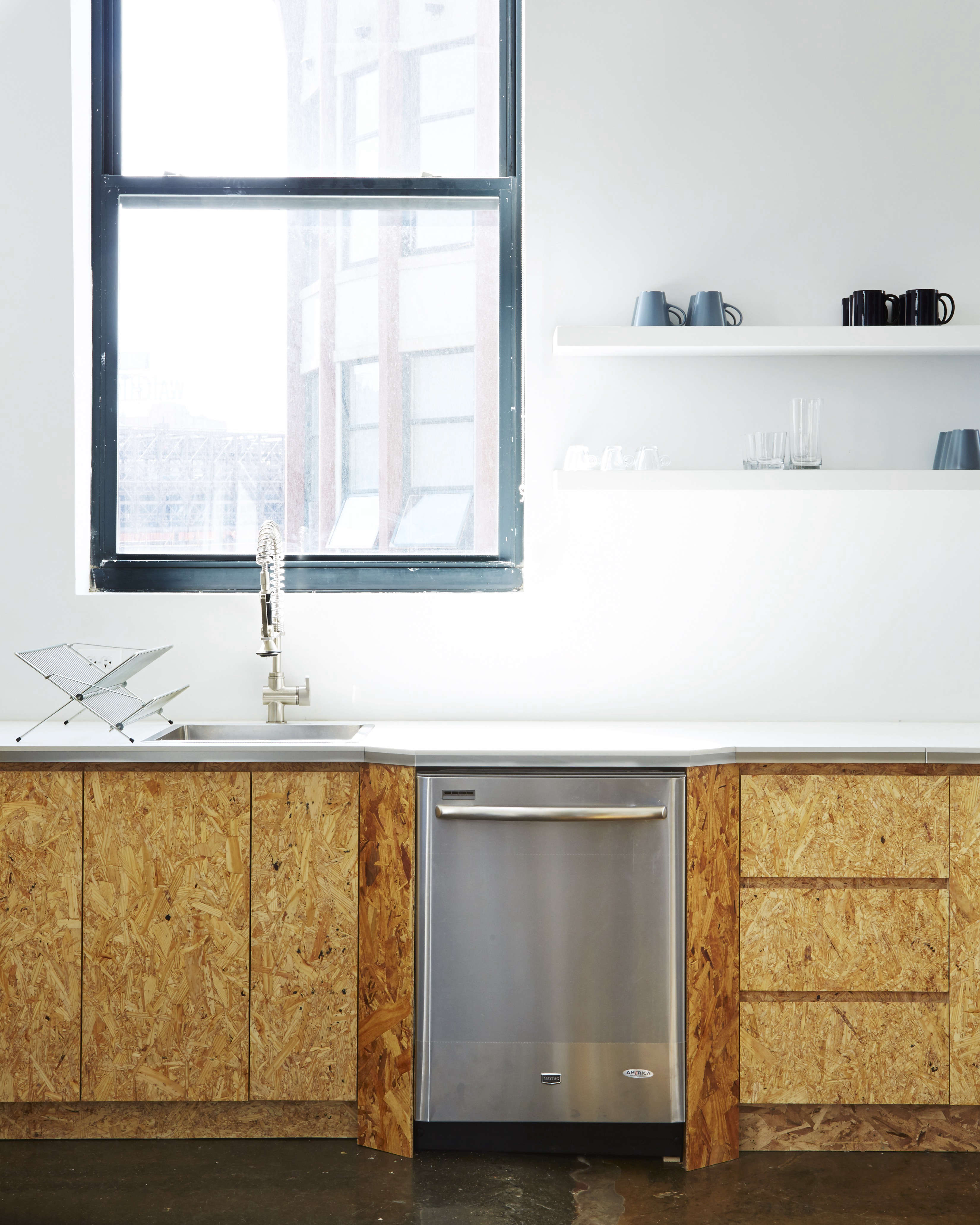 Kitchen of the Week: The Stylishly Economical Kitchen, Chipboard ...